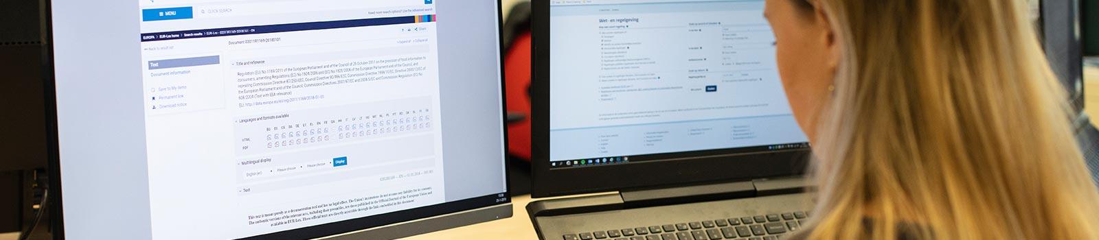 Search assistant legislation labelling